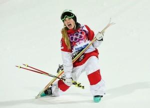 Justine Defour-Lapointe efter OS-guldåket i puckelpist